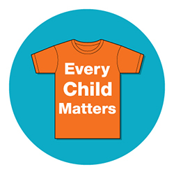 Orange Shirt Day logo used with permission from Orange Shirt Society