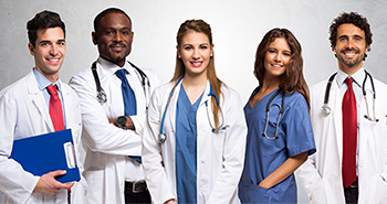 Group of physicians - stock photo from Freepik.com