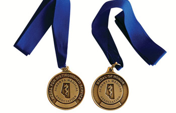 AMA Achievement Award medals